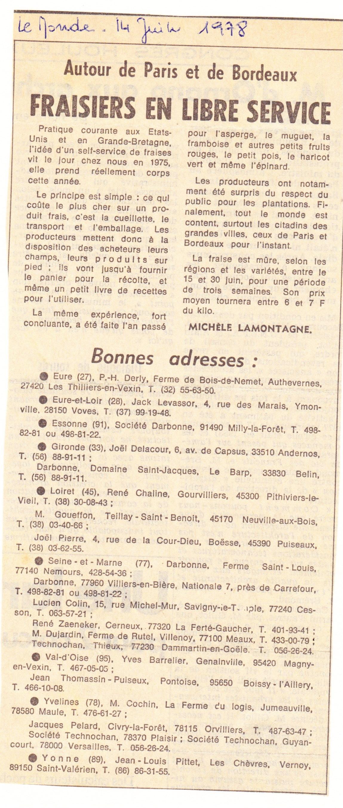1978 juin : Le Monde 001