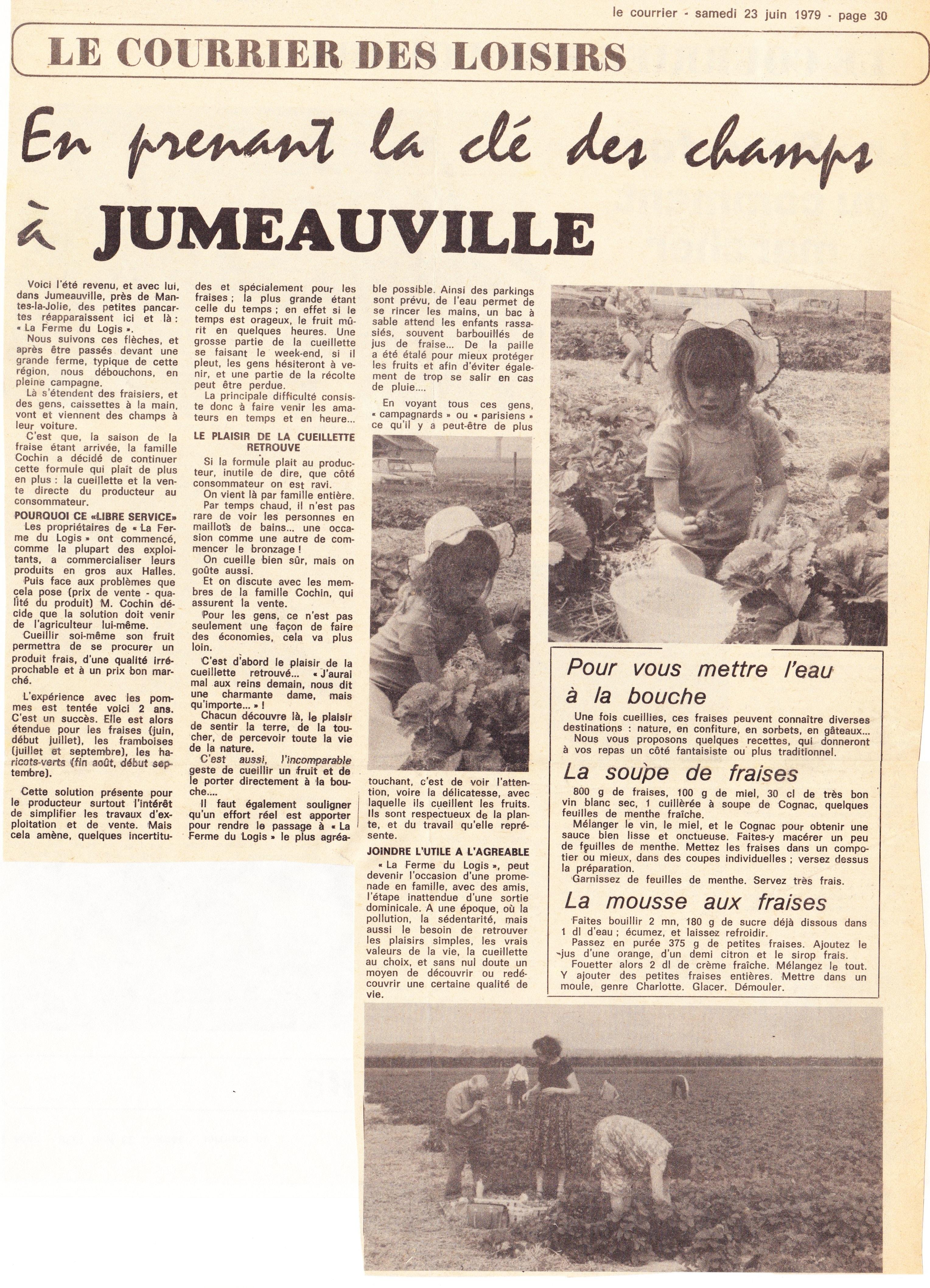 1979 juin Le Courrier
