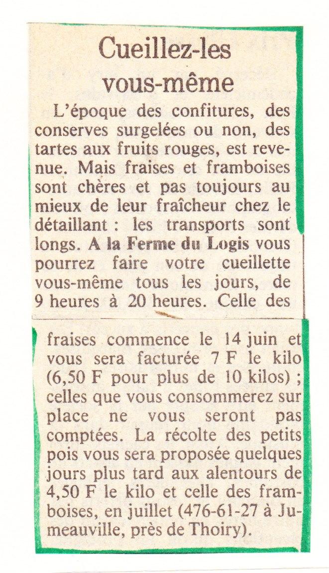 1980 Juin Le Journal du Dimanche 001