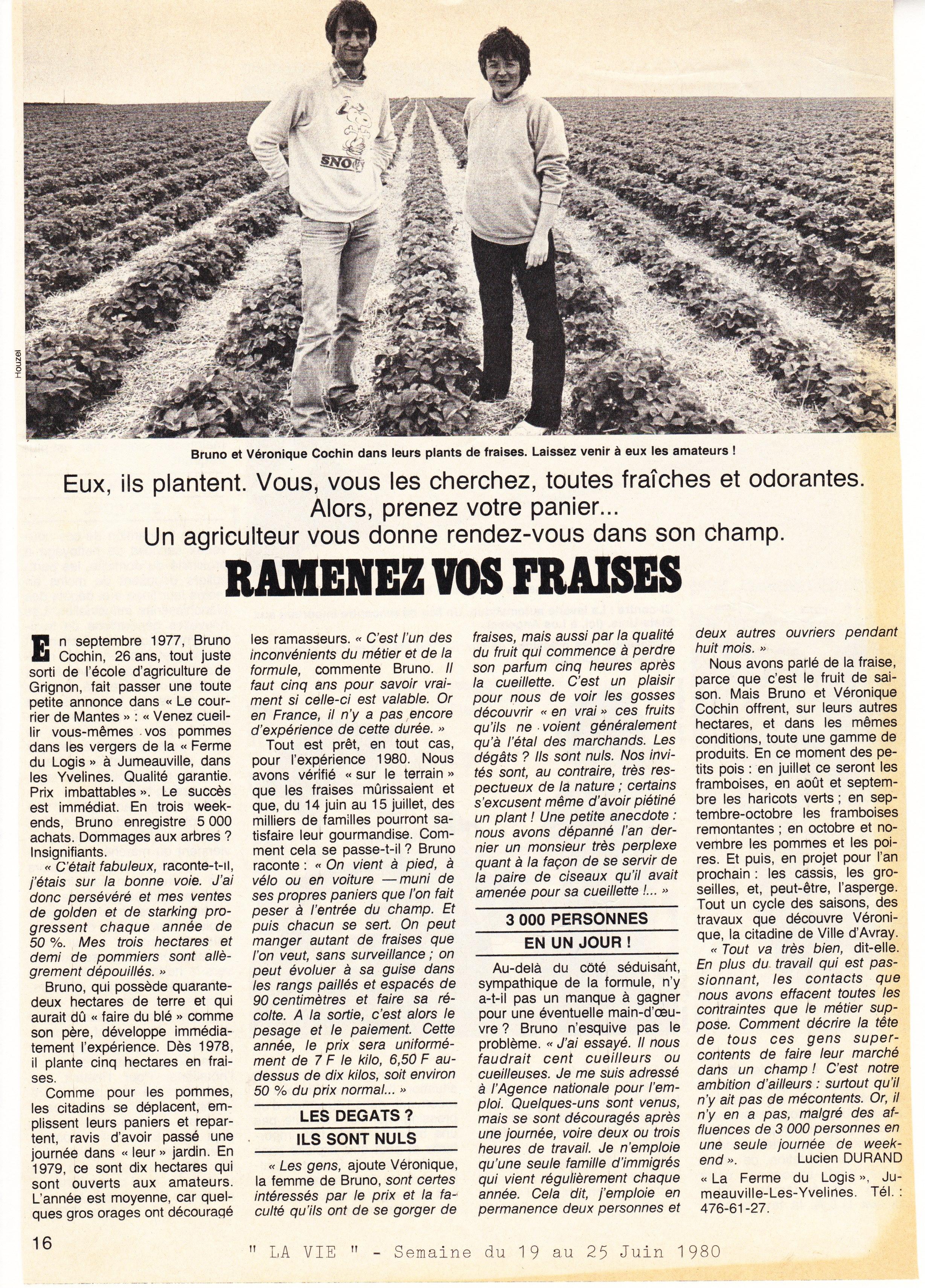 1980 juin La Vie